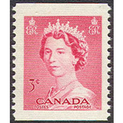 canada stamp 327as queen elizabeth ii 3 1953