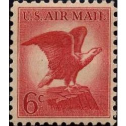 us stamp c air mail c67 bald eagle 6 1963