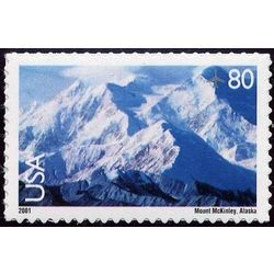 us stamp air mail c c137 mount mckinley 80 2001