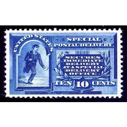 us stamp e special delivery e1 messenger running 10 1885