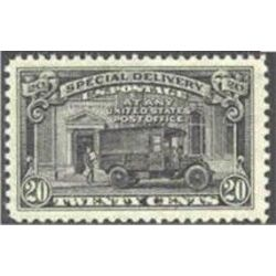 us stamp e special delivery e19 post office truck 20 1944
