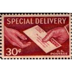 us stamp e special delivery e21 us stamp e21 1954 1957 30 1954