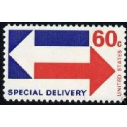 us stamp e special delivery e23 arrows 60 1969