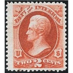 us stamp o officials o16 interior 2 1873