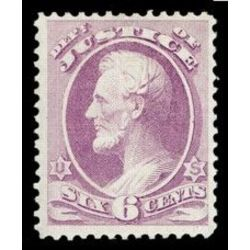 us stamp officials o o28 justice 6 1873