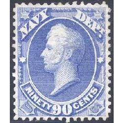 us stamp o officials o45 navy 90 1873