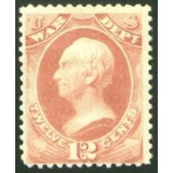 us stamp o officials o89 war 12 1873