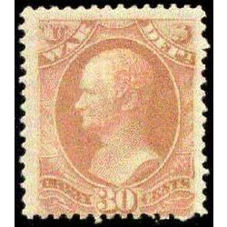 us stamp o officials o92 war 1873