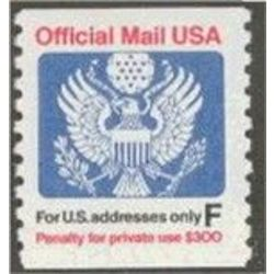 us stamp officials o o144 us post only great seal 29 1991