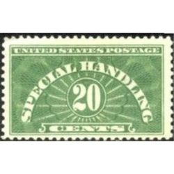 us stamp qe special handling qe3 special handling 20 1925
