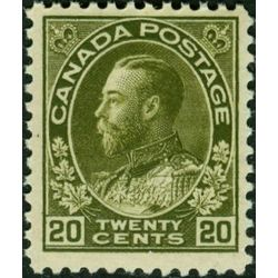 canada stamp 119xx king george v 20 1925