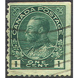 canada stamp 104avs king george v 1 1915