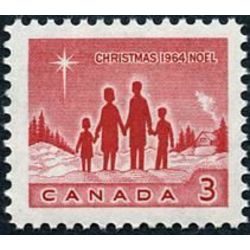 canada stamp 434i star of bethlehem 3 1964