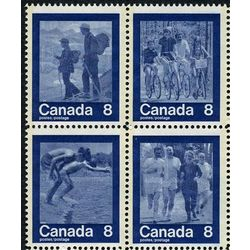 canada stamp 632ai keep fit summer sports 1974