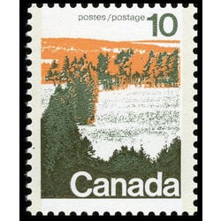 canada stamp 594aii forest 10 1976
