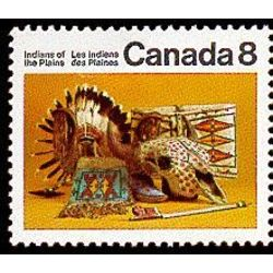 canada stamp 563pi plains artifacts 8 1972