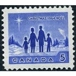 canada stamp 435piii star of bethlehem 5 1964