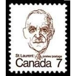 canada stamp 592iii louis st laurent 7 1977