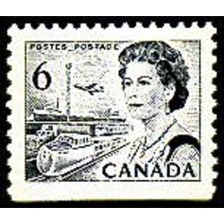 canada stamp 460fpxxii queen elizabeth ii transportation 6 1972