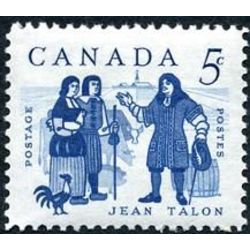 canada stamp 398 talon and colonists 5 1962