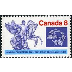 canada stamp 648iii mercury and winged horses 8 1974