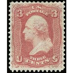 us stamp postage issues 64b george washington 3 1861