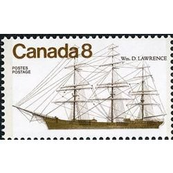 canada stamp 670i wm d lawrence 8 1975