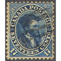 canada stamp 19a jacques cartier 17 1859