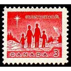 canada stamp 434piii star of bethlehem 3 1964