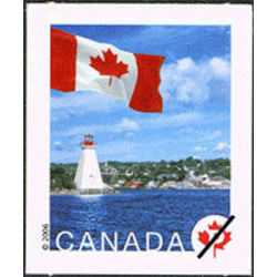 canada stamp 2192 flag over bras d or lake ns p 2006