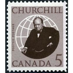 canada stamp 440 sir winston churchill 5 1965
