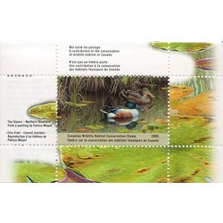canadian wildlife habitat conservation stamp fwh19 northern shovelers ducks 8 50 2003