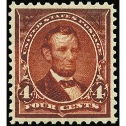 us stamp postage issues 280b lincoln 4 1898