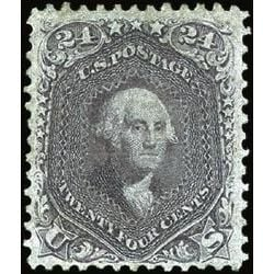 us stamp postage issues 78a washington 24 1863