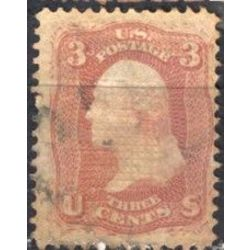 us stamp postage issues 94a washington 3 1867