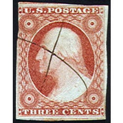 us stamp postage issues 11a washington 3 1851
