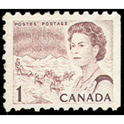 Canada stamp 454di queen elizabeth ii northern lights 1 1968