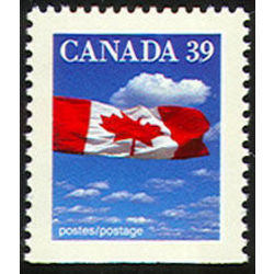 canada stamp 1166asi flag over clouds 39 1989