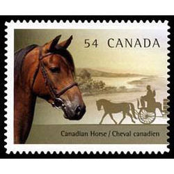 canada stamp 2329 the canadian horse 54 2009