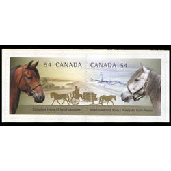 canada stamp 2330a se canadian horses 2009