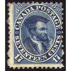 canada stamp 19iv jacques cartier 17 1859