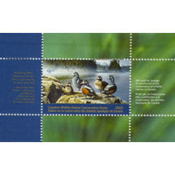 canadian wildlife habitat conservation stamp fwh21 harlequin ducks 8 50 2005