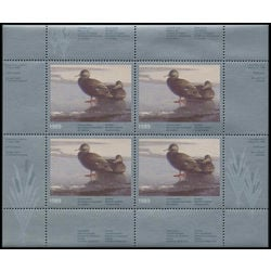 quebec wildlife habitat conservation stamp qw2a black ducks by claudio d agelo 1989