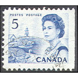 canada stamp 458as queen elizabeth ii fishing village 5 1967
