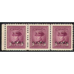 canada stamp o official o3i king george vi war issue 1949
