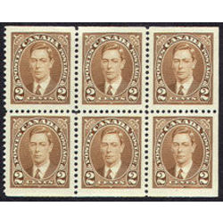 canada stamp 232b king george vi 1937