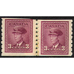 canada stamp 266re pa king george vi 1943