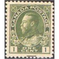 canada stamp 104vi king george v 1 1911