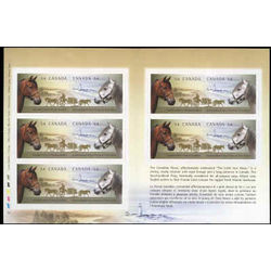 canada stamp 2330a canadian horses 2009