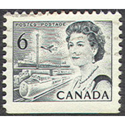 canada stamp 460dis queen elizabeth ii transportation 6 1970